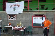 Turnaj v malé kopané Kozina cup.