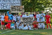 Fotbalisté Hostimi zvítězili v prvním kole Region Cupu nad celkem Pavlic 2:1. Foto: M. Pisařovicová