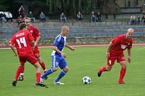 Fotbalisté Znojma prohráli na domácí půdě s Varnsdorfem 0:1.
