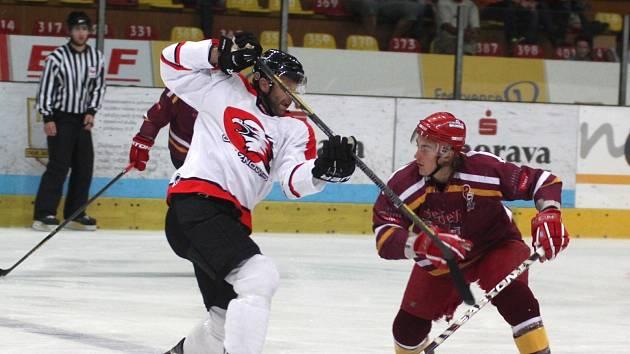Znojemští hokejisté sehráli odvetu přípravného zápasu proti jihlavské Dukle.
