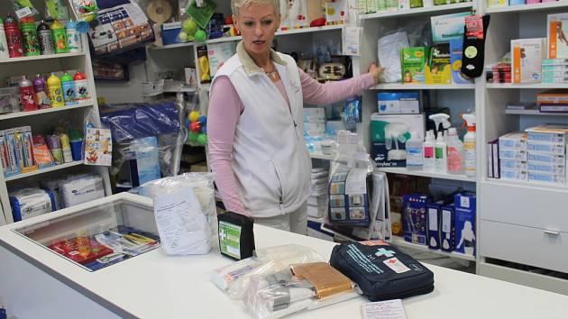 Použité lékárničky poputují ze Znojma do Afriky.