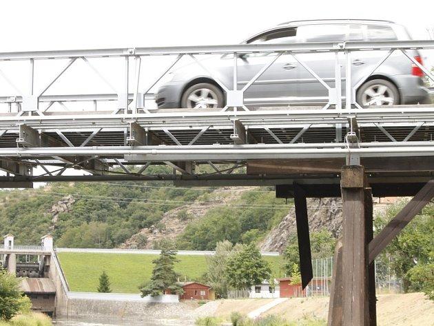 Most pod znojemskou přehradou bude po pěti letech potřebovat opět opravit.