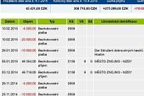 Na internetu lze najít transparentní účet starosty Znojma Vlastimila Gabrhela.