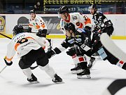 Znojemští hokejisté se na domácím ledě utkali s Grazem a padli 0:4.