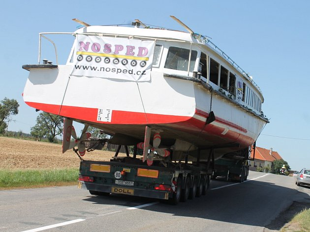 Nová loď pro Vranovskou přehradu.
