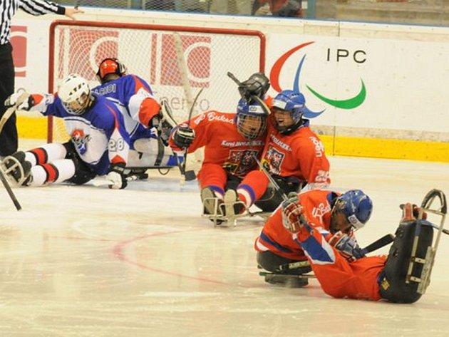 Čeští sledge hokejisté pojedou na paralympiádu.