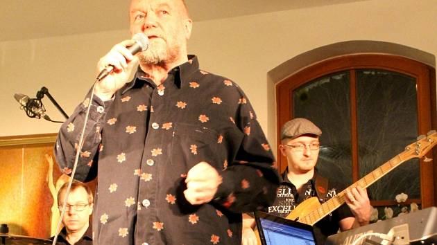 Slovenský jazzman a patron festivalu Znojmo Jazz Fest Peter Lipa.