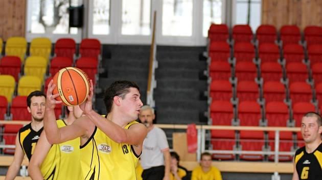 Znojemští basketbalisté. Ilustrační foto.