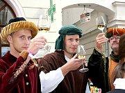 Začalo Znojemské historické vinobraní 2011.