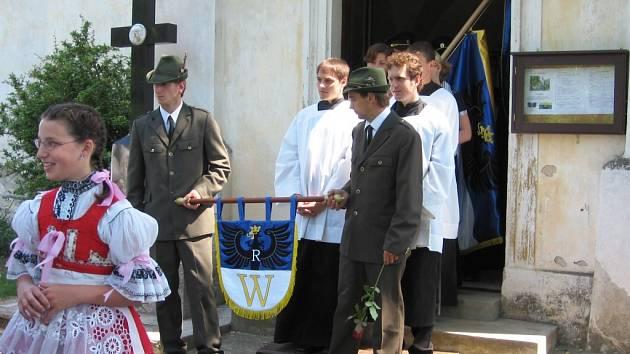 V Oleksovicích požehnali symbolům.