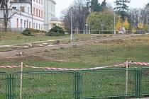 Střední park ve Znojmě - ilustrační foto.