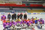 Parahokejisté trénovali své dovednosti na kempu ve Znojmě. Na konci července se ho zúčastnilo přes dvacet borců z Česka i Slovenska.