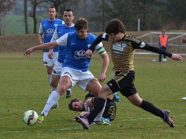 Fotbalisté druholigového Znojma prohráli na hřišti Táborska 0:2.