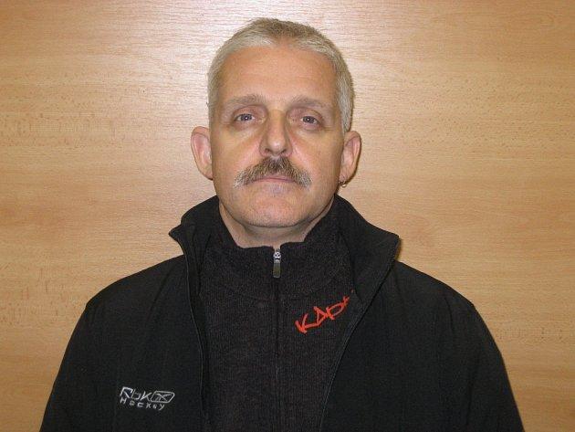 Trenér hokejových juniorů Karel Vaněk