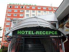 Hotel Dukla ve Znojmě.