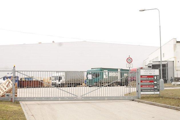 Výrobní prostory společnosti Laufen CZ ve Znojmě.