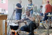Šanovští kuželkáři připravili na předposlední prázdninovou sobotu druhý ročník soutěže o nejlepší guláš.