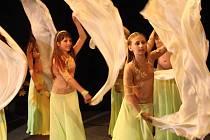 Znojemské divadlo zažilo dvoudenní taneční maratón. Své dovednosti předvedly děti navštěvující kroužky při Středisku volného času.