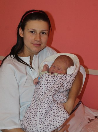 První miminko narozené letos vkraji Jonáš Dojčár. Vážil 3,94kilogramu a měřil 52centimetrů. Narodil se ve Znojmě 54minut po půlnoci.