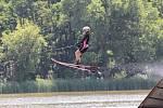 Poslední červnová sobota patřila v Oleksovicích vodním lyžařům. Pořádali zde Moravia Cup.