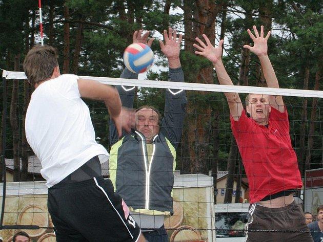Volejbalový turnaj Vranovské léto.