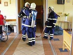 Dobrovolní hasiči z Višňové.