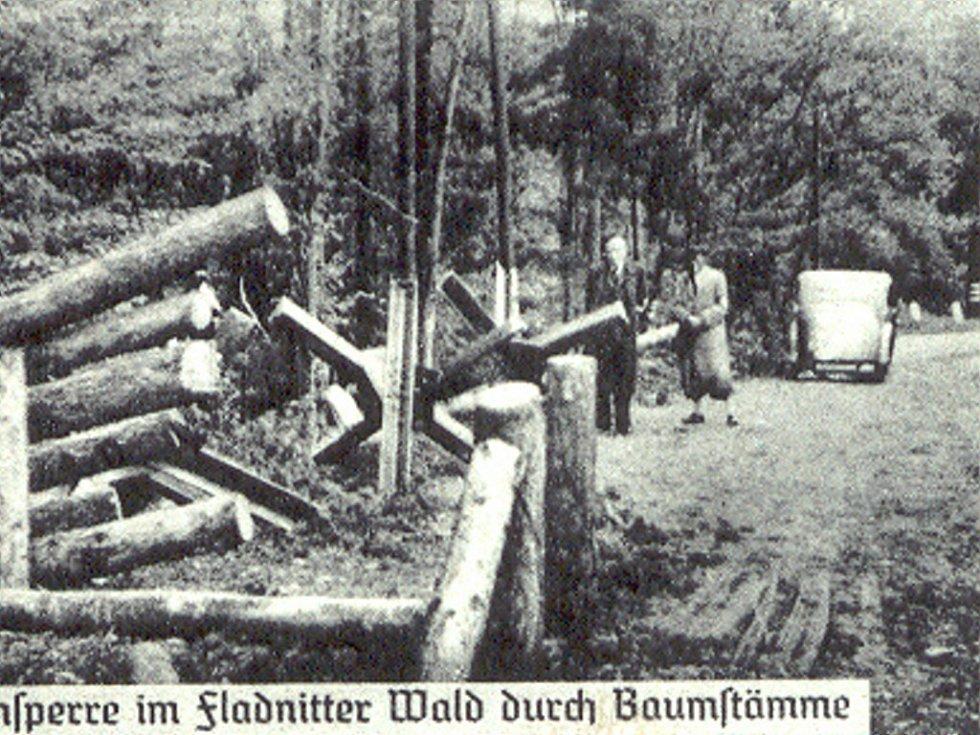 Zatarasy na hranicích, 1938