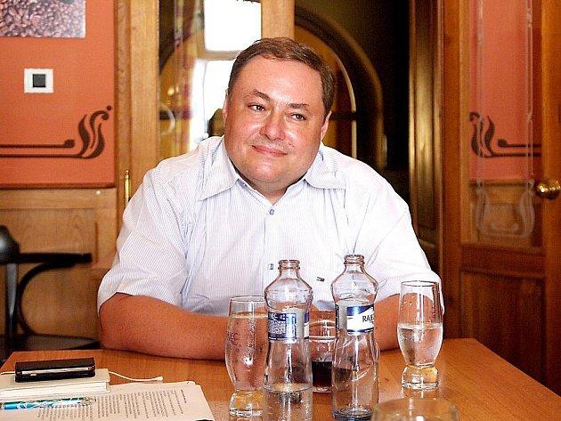 Místostarosta Znojma Marian Keremidský.