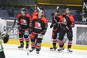 Hokejisté Znojma slaví první vítězství v přípravě.
