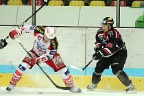 Znojemští Orli před domácími fanoušky porazili Klagenfurt po samostatných nájezdech 3:2.