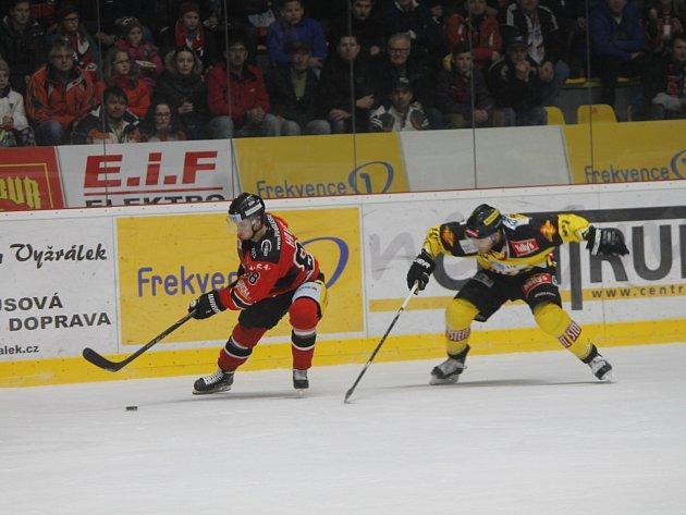 Orli zvládli popáté v řadě zvítězit, zdolali v derby Vídeň 2:1 po nájezdech.