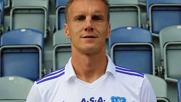 Fotbalista Radek Mezlík.