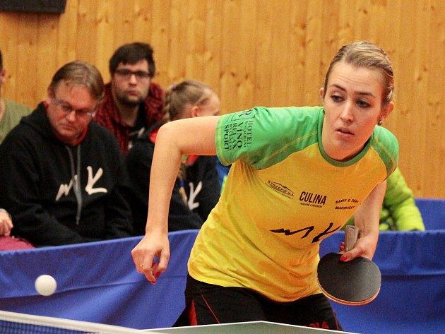 Stolní tenistky Moravského Krumlova postoupily dále v evropském poháru