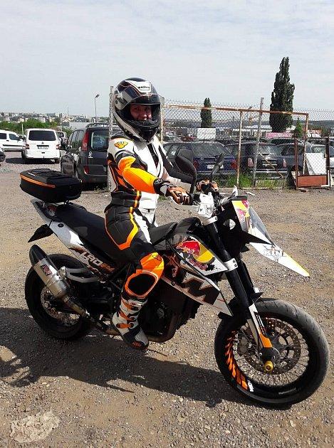 Denisa Vaňková miluje motorky už od dětství.
