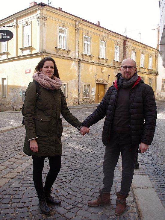 Valerie a David Kozelští tři roky opravují dům ve Velké Mikulášské ve Znojmě.