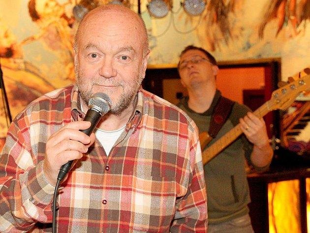 Patron znojemského Jazz Festu Peter Lipa.