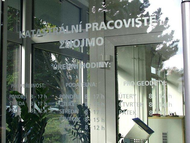 Otevření nového katastrálního úřadu.