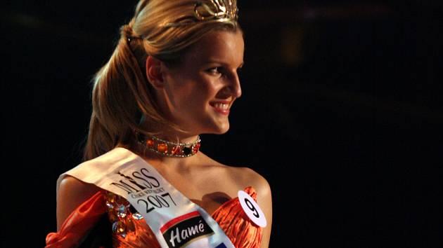 Veronika Chmelířová  na Miss České republiky 2007