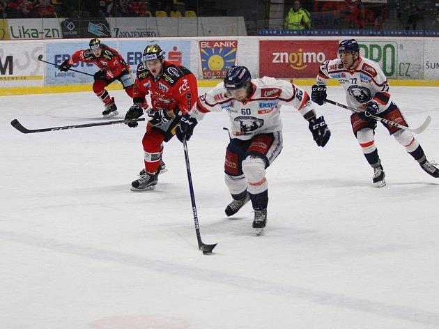 Hokejisté Znojma na závěr základní části prohráli se Záhřebem