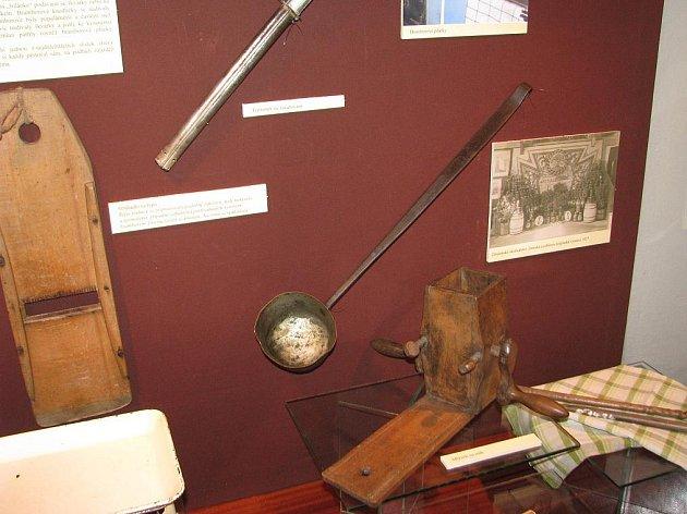 Výstava Co se jedlo na Znojemsku v Jihomoravském muzeu.