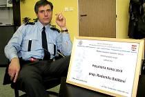 NENÁPADNÝ PÁTRAČ. Radomil Salát je policistou roku.