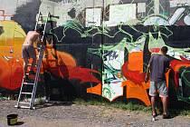 Třetí ročník Festival graffiti ve Znojmě