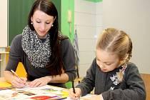 Také ve znojemské Základní škole Pražská bylo v sobotu 23. ledna rušno. Konaly se tam zápisy do prvních tříd.