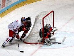 Znojemští Orli přivítali o první lednové neděli na svém ledě Býky ze Salzburgu.