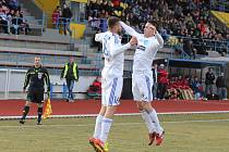 Fotbalisté Znojma - ilustrační foto.