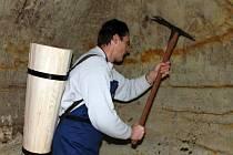 Otevřené novošaldorfské sklepy nabídnou i kopání písku.