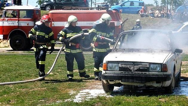 Zásahy prosiměřických hasičů
