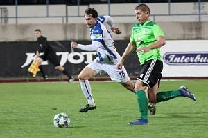Fotbalisté třetiligového Znojma v pátek remizovali s týmem SFK Vrchovina 0:0.