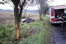 Smrtelná nehoda u Borotic.