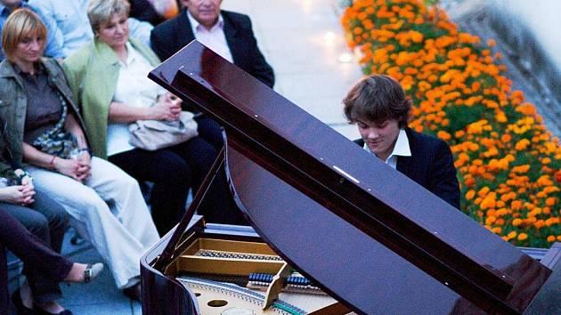 Koncert Davida Hausknechta.